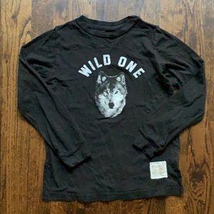 The Original Retro Brand shirt WILD ONE size 6